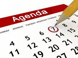 Hieronder volgt de agenda met de activiteiten