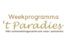 Weekprogramma 't Paradies
