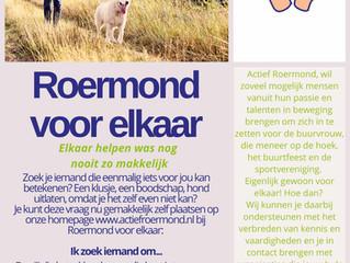 Roermond voor Elkaar, vraag en aanbod klusjes