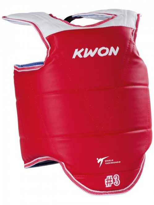 KWON Taekwondo Body Protector Competition reversible- WTF APPROVED