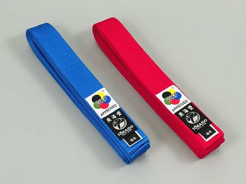 TOKAIDO KARATE WKF APPROVED BELT