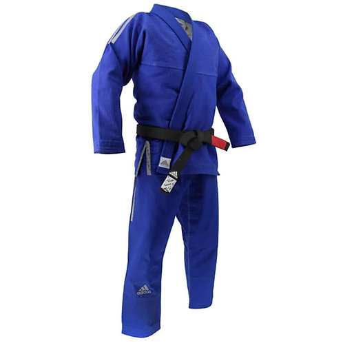 Adidas Brazilian Jit Jitsu uniform JJ430 CONTEST (Blue)