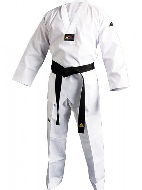 Adidas TKD CHAMPION III 跆拳道道袍。(中國製)