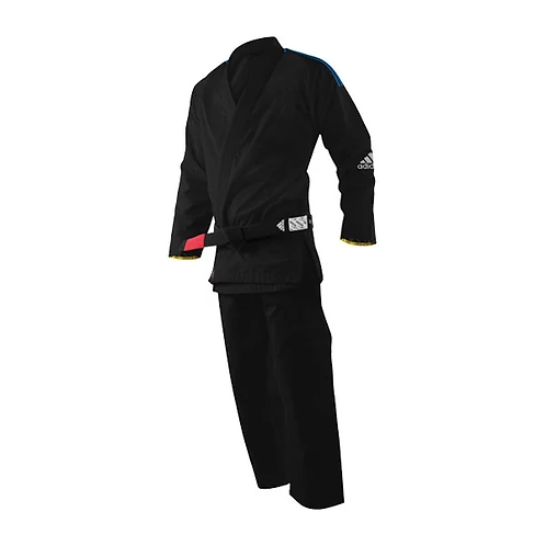 Adidas Brazilian JJ uniform RESPONSE  (BLACK)