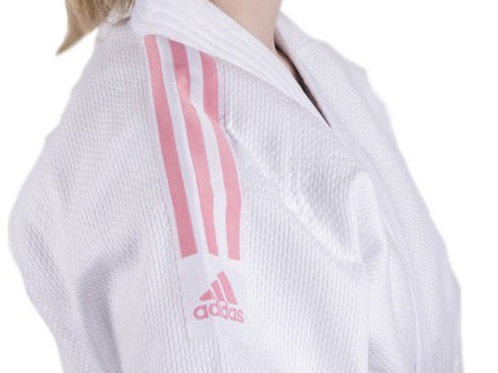 Adidas Club Judo Uniform J350 PINK - Sizes 120cm-160cm