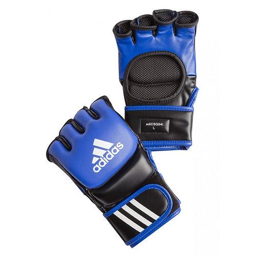 Adidas MMA gloves - BLUE/ BLACK