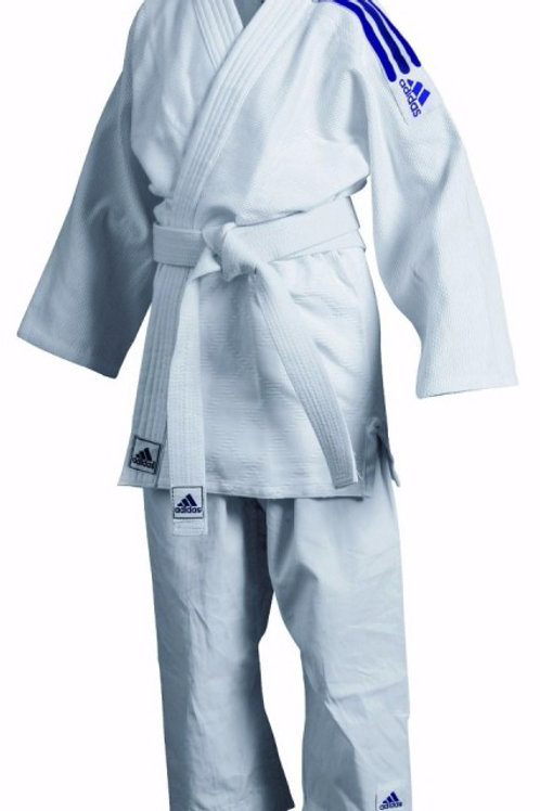 Adidas Judo club uniform - J350(blue stripes) Sizes 120cm-160cm