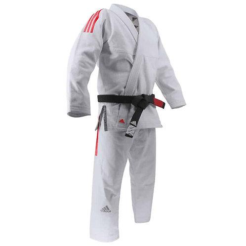 Adidas Brazilian Jit Jitsu uniform CONTEST (White) JJ430