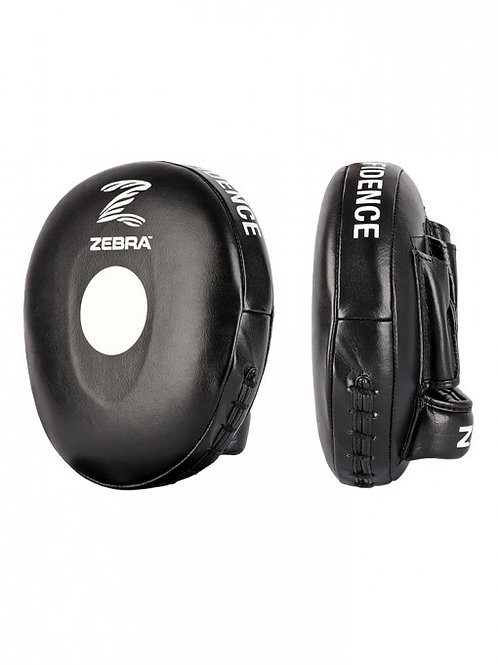 (pre-order)2 X COACHING MITTS, ZEBRA PRO, LEATHER