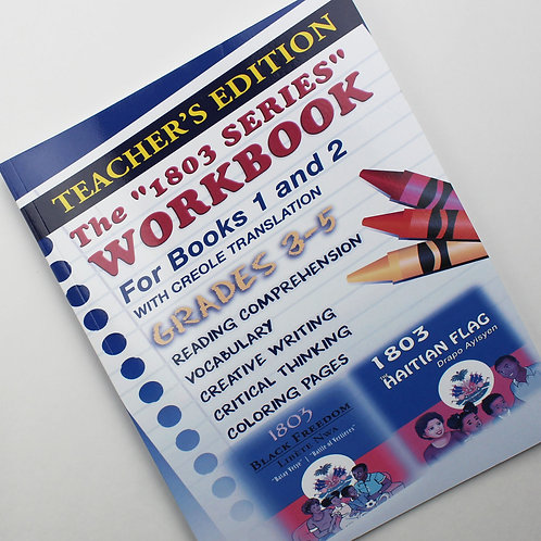 1803 Series Workbook Grades 3-5 (Teacher's Edition): Books 1 and 2 Paperback