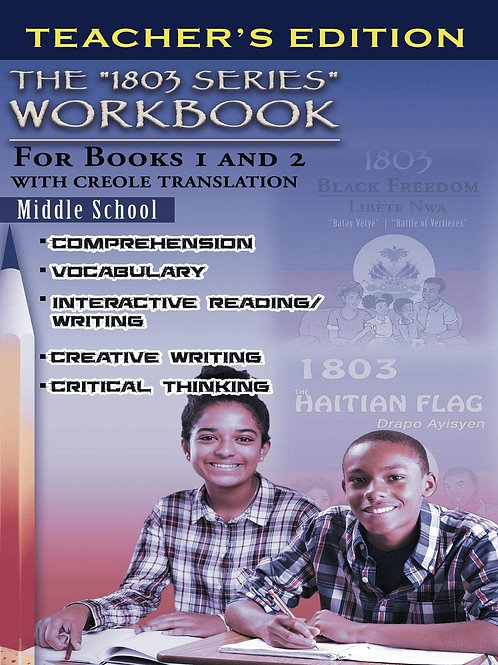 1803 Series Workbook Middle School: For Books 1 and 2-Teacher's Edition
