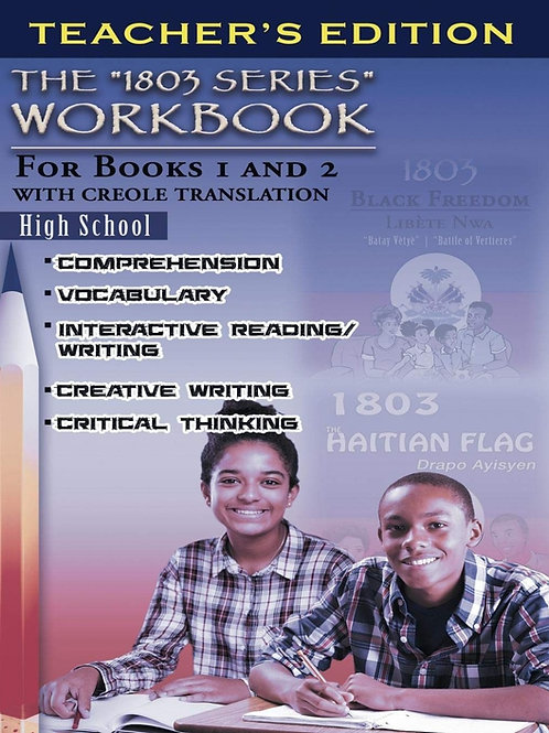 1803 Series Workbook High School: For Books 1 and 2 (Teacher's Edition)