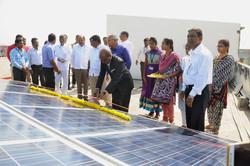 Solar Power Plant Inauguration