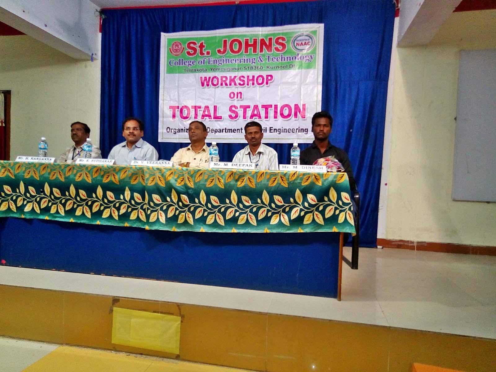 Workshop on Total Station