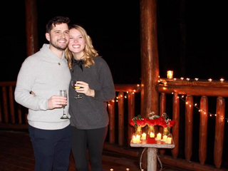 A Grandson Gets Engaged!
