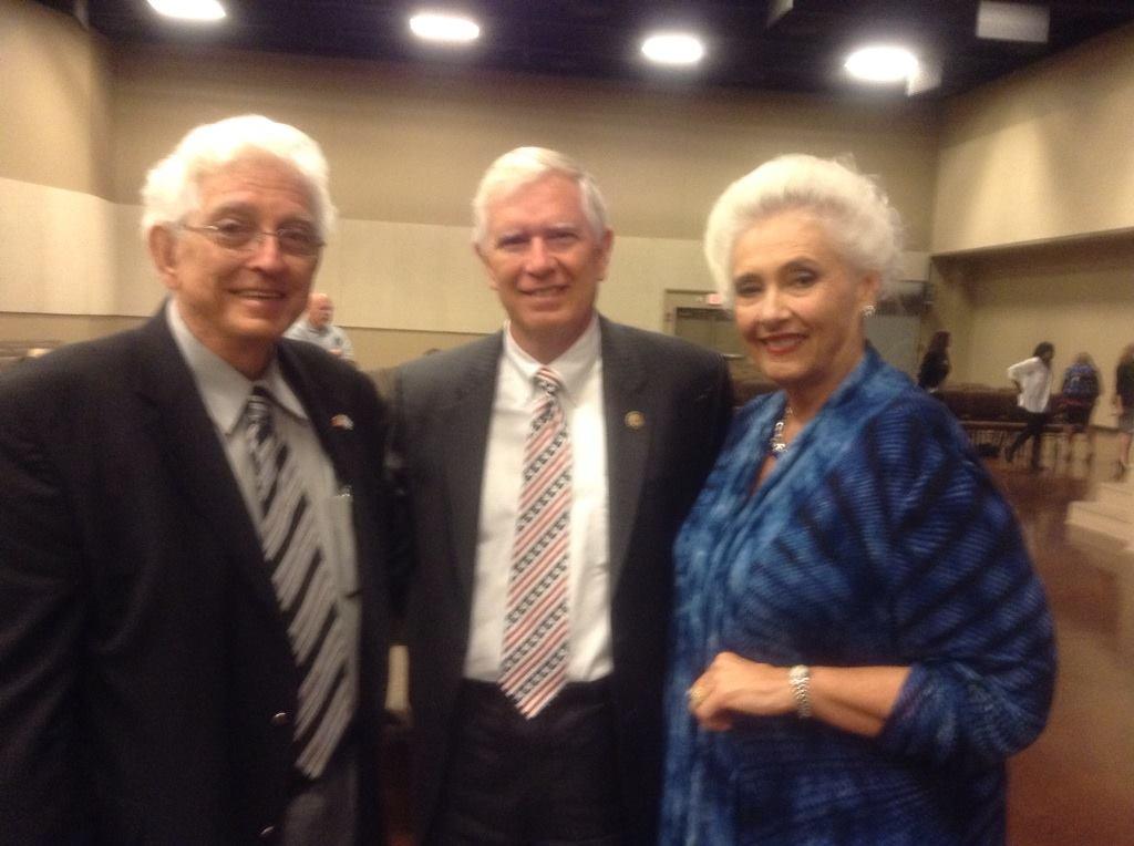 Jim, Anne, and Mo Brooks
