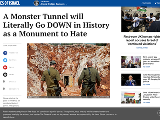 Monster Tunnel / Monument to Hate