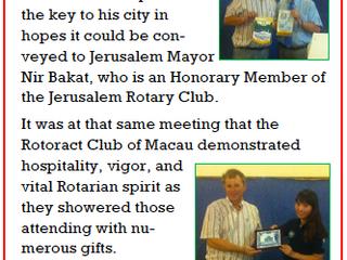 An International Connection through Rotary