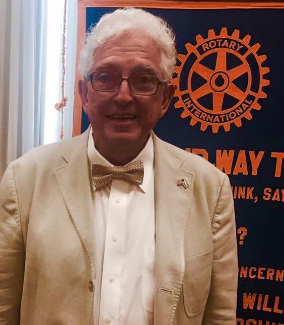 Jim at Rotary Club