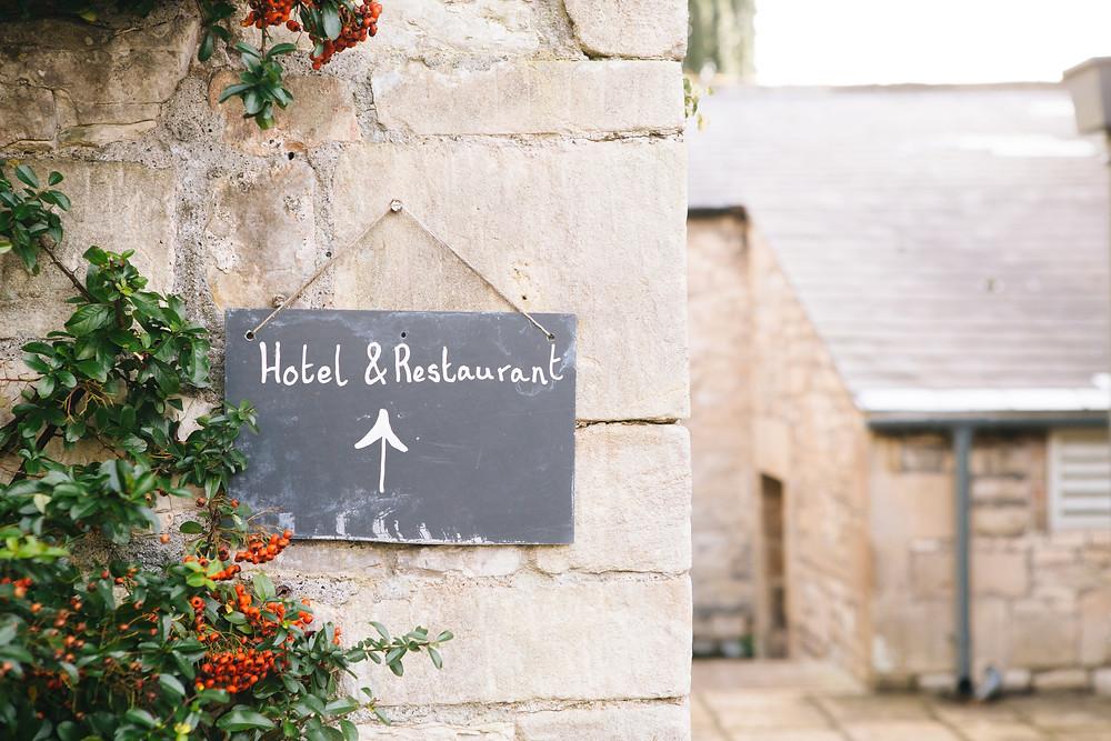 Hotel / Restaurant Wall Sign