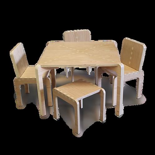Mesas y Sillas Encino. Agotado
