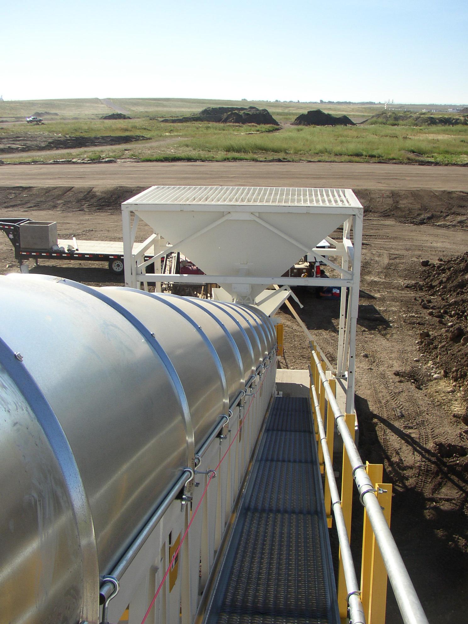 9'x14' Hopper to Feed Conveyor