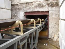 Tunnel Conveyor Beneath Stockpiles