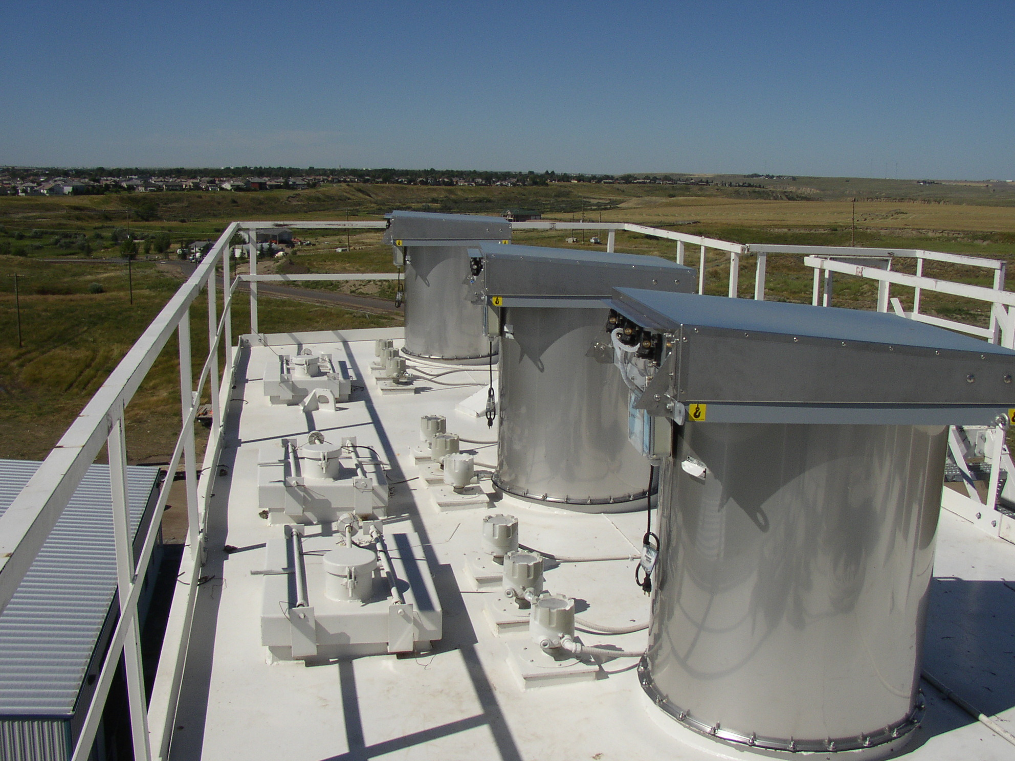 WAM Inc. Filter Vents on Cement Bin