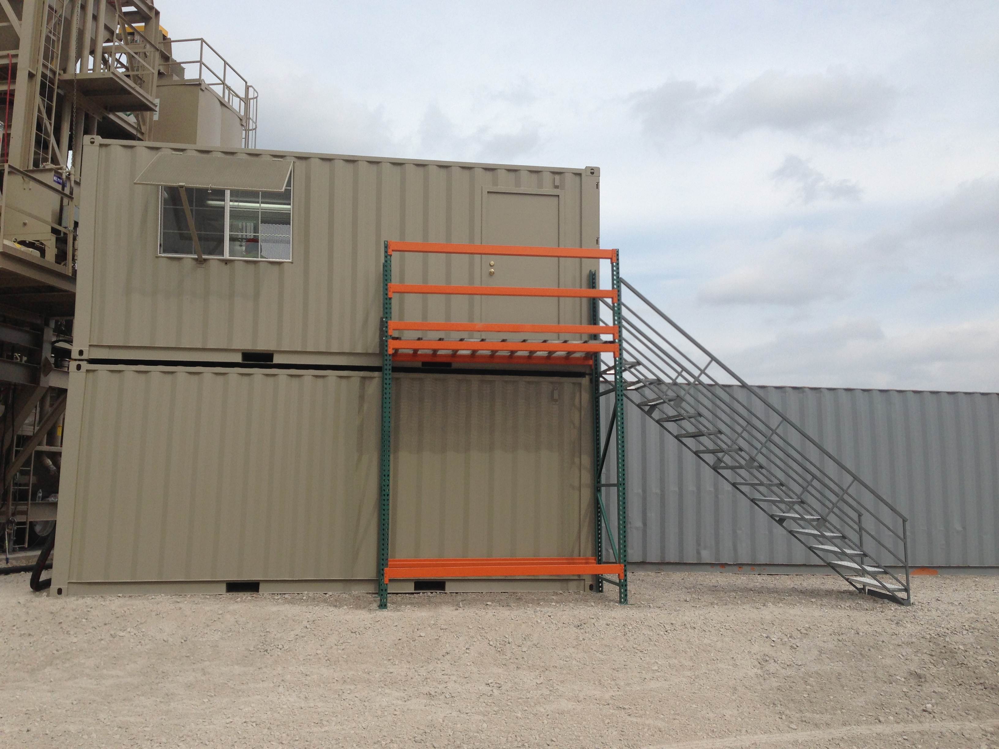 20' Container Converted to Office