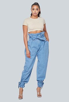 All Legs Paperbag Pants