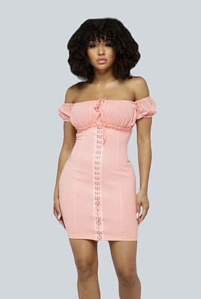 Everything's Peachy Dress