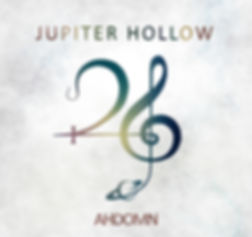 "Progressive metal band Jupiter Hollo's debut album ""AHDOMN""."