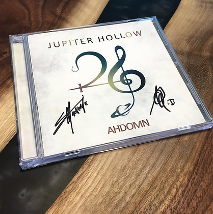 Free, signed, limited edition AHDOMN CD 💿