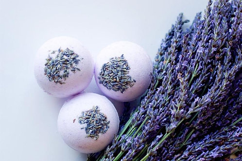 Lavender Scented Aroma Therapy Bath Bombs