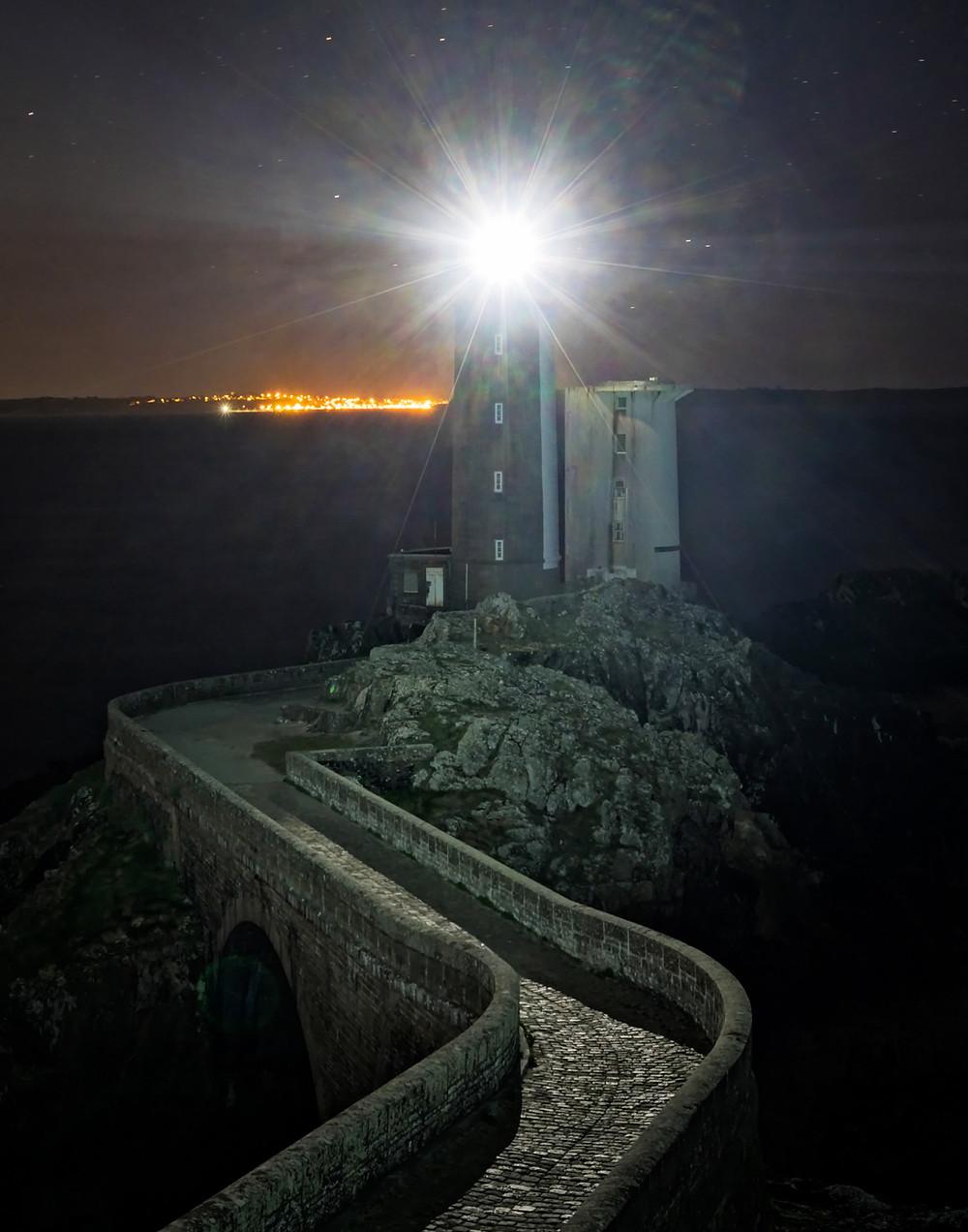 Petit Minou lighthouse at dawn