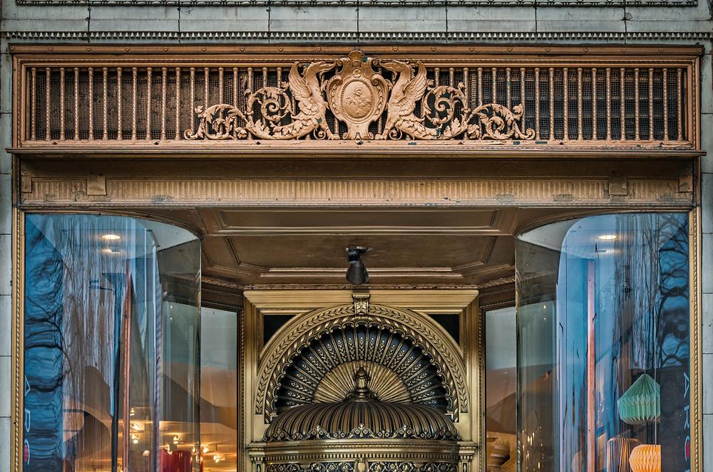 Santa Fe Building entrance