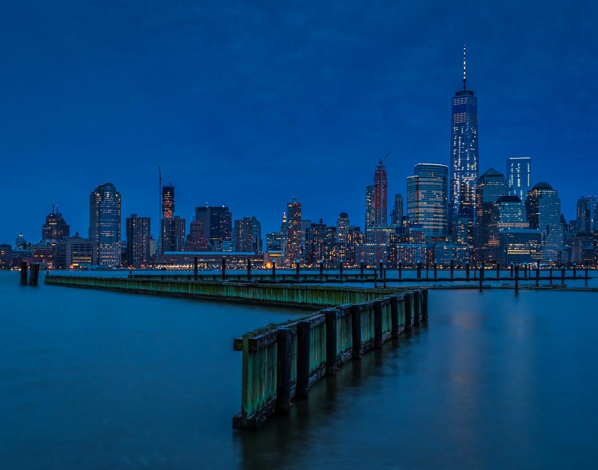 Manhattan at blue hour
