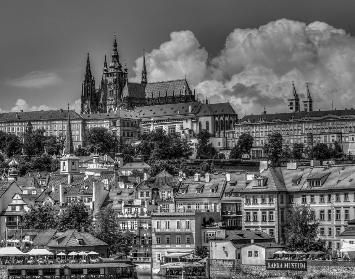 Prague skyline