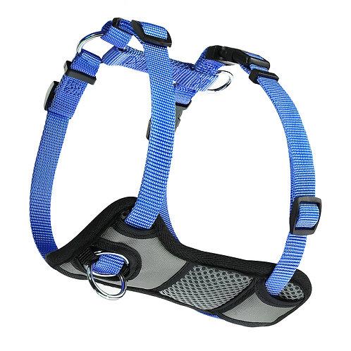 JESPET Blue Dog Harness No Pull with Adjustable Straps for Behavior Trai