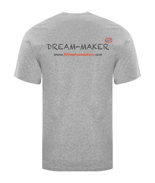 Mens Tee's: Slogans/ Dream-Maker (Light Grey)