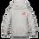 Thumbnail: Childrens Hoodie: Wilms Warriors™/ White/Orange(Light Grey)