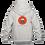Thumbnail: Childrens Hoodie: Wilms Warriors™/ Ninja/ Orange/ Grey (Light Grey)