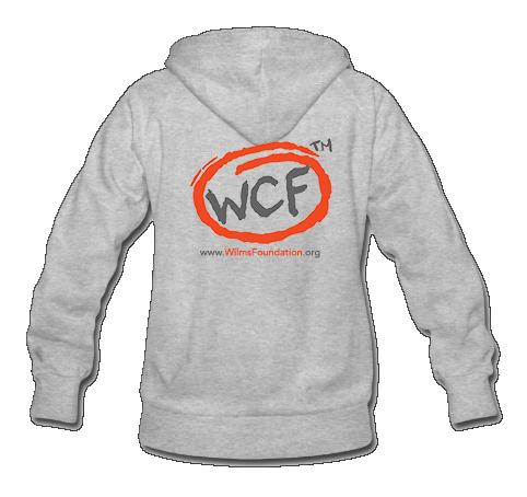 Ladies Hoodie: Classic WCF Icon (Light Grey)