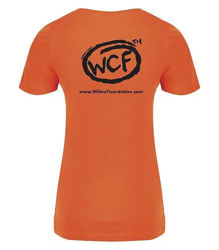 Ladies Tee's: Classic WCF Icon (Orange)