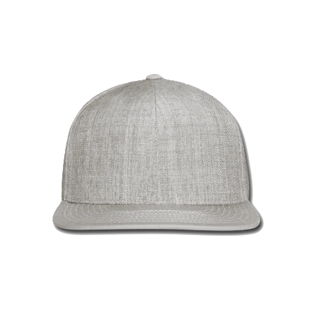 Snap-back Baseball Cap: WCF URL/ Orange/Grey (Light Grey)