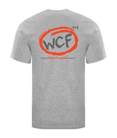 Mens Tee's: Classic WCF Icon (Light Grey)
