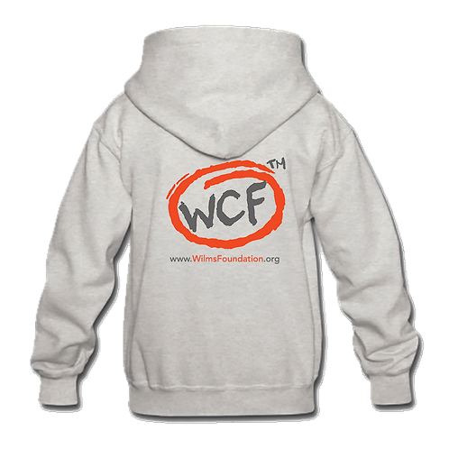 Childrens Hoddie: Classic WCF Icon (Light Grey)