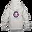 Thumbnail: Childrens Hoodie: Wilms Warriors™/ Ninja/ Grey/ Pink (Light Grey)