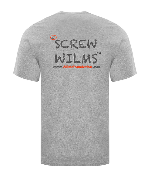 Childrens Tee's: Slogans/ Screw Wilms (Light Grey)