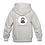 Thumbnail: Childrens Hoodie: Wilms Warriors™/ Ninja/ White/ Black (Light Grey)
